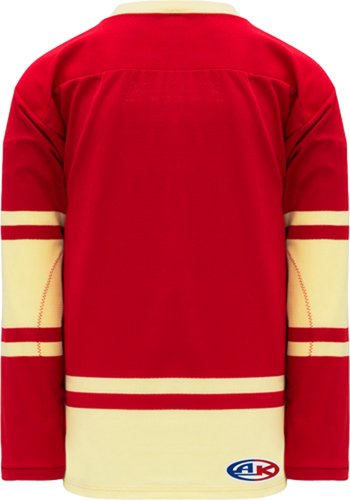 2004 ALL STARS RED Lace Neck Pro Blank Hockey Jerseys