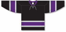 Load image into Gallery viewer, NEW ANAHEIM 3RD BLACK Pro Blank Hockey Jerseys