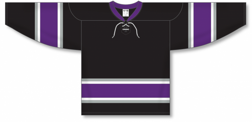 NEW ANAHEIM 3RD BLACK Pro Blank Hockey Jerseys