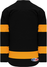 Load image into Gallery viewer, BOSTON WHITE Knitted Body And Sleeve Stripes Pro Blank Hockey Jerseys