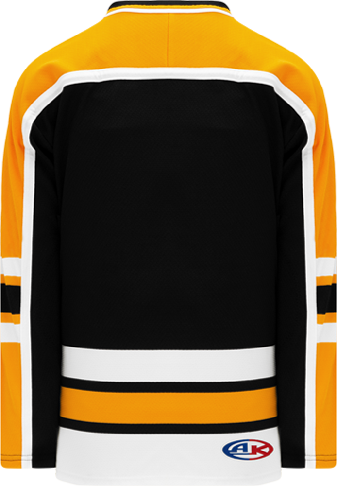 BOSTON WINTER CLASSIC BLACK Crew Collar Blank Hockey Jerseys