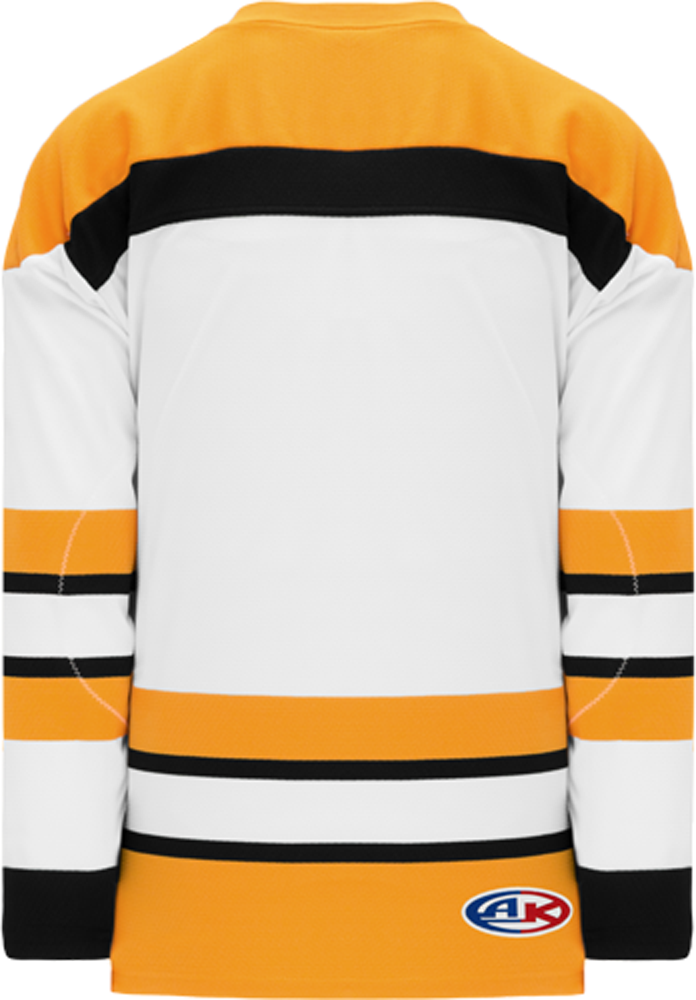 VINTAGE BOSTON WHITE Pro Blank Hockey Jerseys