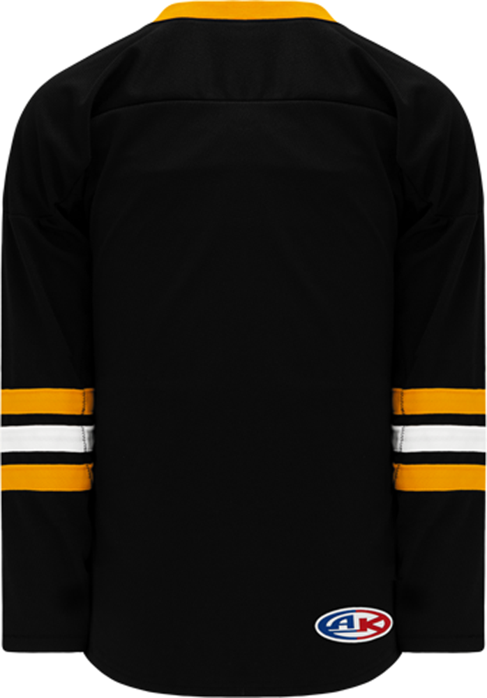 2008 BOSTON 3RD BLACK Pro Blank Hockey Jerseys