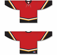 Load image into Gallery viewer, NEW CALGARY 3RD RED Pro Blank Hockey Jerseys