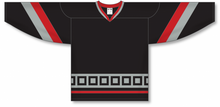 Load image into Gallery viewer, CAROLINA 3RD BLACK Pro Blank Hockey Jerseys