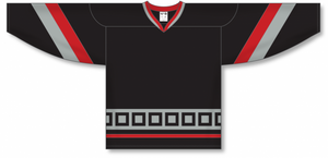 CAROLINA 3RD BLACK Pro Blank Hockey Jerseys