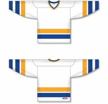Load image into Gallery viewer, Charlestown Chiefs Blank Hockey White Jerseys