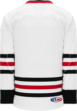 Load image into Gallery viewer, 2007 CHICAGO WHITE Taper Neck With Underlay Blank Hockey Jerseys