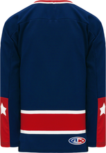 Load image into Gallery viewer, CAROLINA RED Sublimated Ak - Knit Body Panel Blank Hockey Jerseys