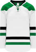 Load image into Gallery viewer, 2013 DALLAS WHITE Knitted Body Blank Hockey Jerseys