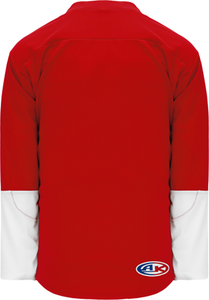 2016 DETROIT STADIUE SERIES RED Pro Blank Hockey Jerseys