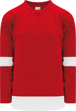Load image into Gallery viewer, 2007 DETROIT RED Pro Blank Hockey Jerseys