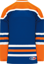 Load image into Gallery viewer, EDMONTON ROYAL Square V-neck With Underlay Pro Blank Hockey Jerseys