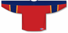 Load image into Gallery viewer, 2013 FLORIDA RED Taper Neck With Underlay Blank Hockey Jerseys