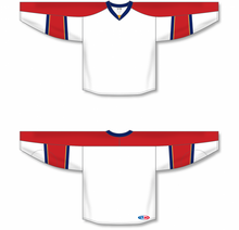 Load image into Gallery viewer, 2013 FLORIDA WHITE Blank Hockey Jerseys