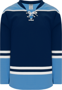 2010 FLORIDA 3RD NAVY Pro Blank Hockey Jerseys