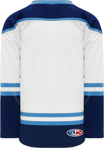 2010 FLORIDA 3RD WHITE Pro Blank Hockey Jerseys