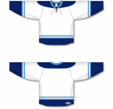 Load image into Gallery viewer, 2010 FLORIDA 3RD WHITE Pro Blank Hockey Jerseys
