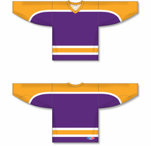 Load image into Gallery viewer, VINTAGE LA PURPLE Pro Blank Hockey Jerseys