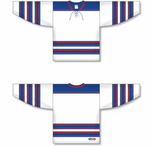 LEGENDS White, Royal, Red Pro Blank Hockey Jerseys