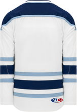 Load image into Gallery viewer, MAINE WHITE Blank Hockey Jerseys