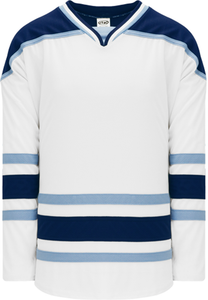 MAINE WHITE Blank Hockey Jerseys