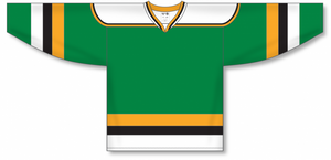 MINNESOTA KELLY WITH BLACK STRIPE Pro Blank Hockey Jerseys