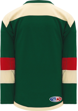 Load image into Gallery viewer, 2016 MINNESOTA STADIUM SERIES DARK GREEN Pro Hockey Jerseys