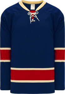 NEW YORK RANGERS HERITAGE NAVY Pro Blank Hockey Jerseys