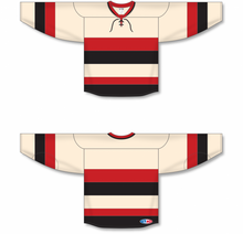 Load image into Gallery viewer, OTTAWA HERITAGE CLASSIC SAND Pro Blank Hockey Jerseys