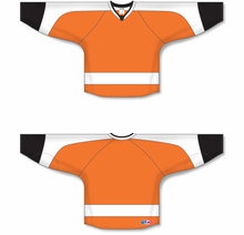 Load image into Gallery viewer, 2011 PHILADELPHIA ORANGE Blank Hockey Jerseys