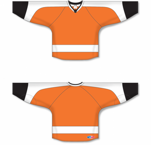 2011 PHILADELPHIA ORANGE Blank Hockey Jerseys