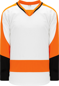 2011 PHILADELPHIA WHITE Pro Blank Hockey Jerseys