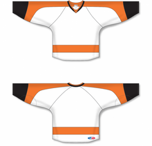 Load image into Gallery viewer, 2011 PHILADELPHIA WHITE Pro Blank Hockey Jerseys