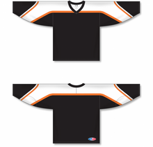 Load image into Gallery viewer, PHILADELPHIA 3RD BLACK Pro Blank Hockey Jerseys