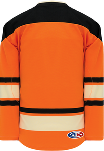 NEW PHILADELPHIA BURNT ORANGE Pro Blank Hockey Jerseys
