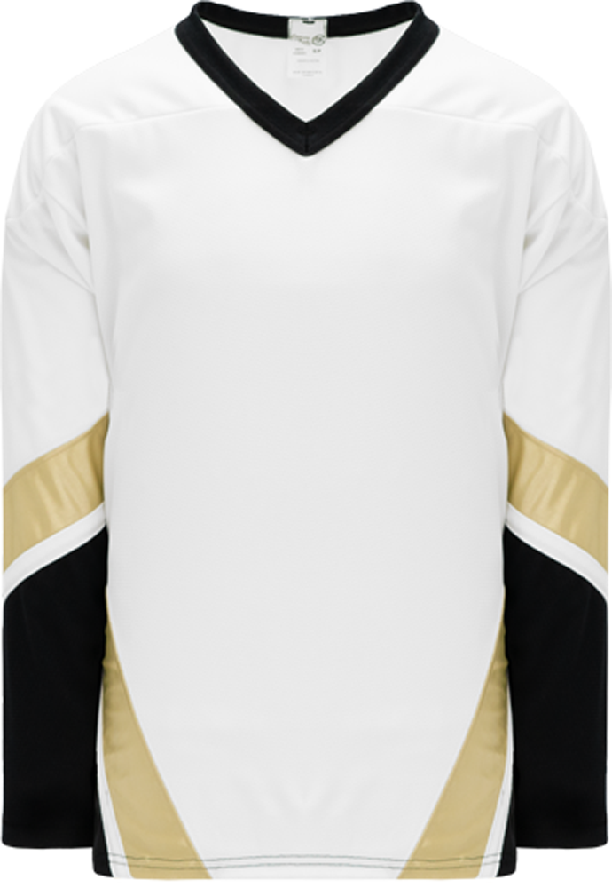 NEW PITTSBURGH 3RD BLACK Pro Blank Hockey Jerseys
