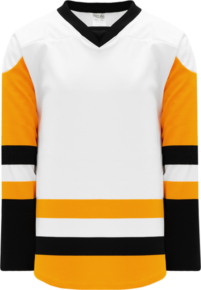 2016 PITTSBURGH WHITE Pro Blank Hockey Jerseys