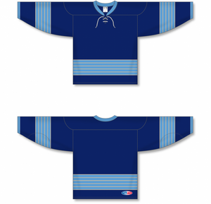 2011 PITTSBURGH WINTER CLASSIC NAVY Pro Blank Hockey Jerseys