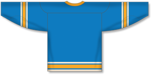 2016 ST. LOUIS WINTER CLASSIC BLUE Pro Blank Hockey Jerseys