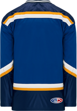 Load image into Gallery viewer, 1998 ST. LOUIS ROYAL Navy, White, Gold Pro Blank Hockey Jerseys