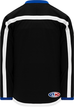 Load image into Gallery viewer, 2014 TAMPA BAY 3RD BLACK Pro Blank Hockey Jerseys