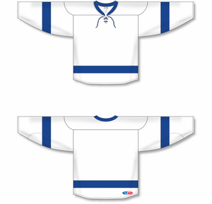 2011 TAMPA BAY WHITE Blank Hockey Jerseys