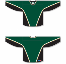 Load image into Gallery viewer, NEW TEXAS DARK GREEN Blank Hockey Jerseys