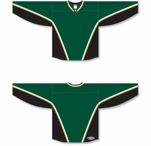 NEW TEXAS DARK GREEN Blank Hockey Jerseys