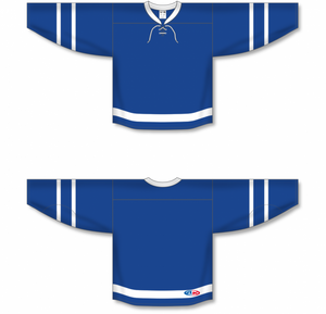 2016 TORONTO ROYAL Royal, White Blank Hockey Jerseys