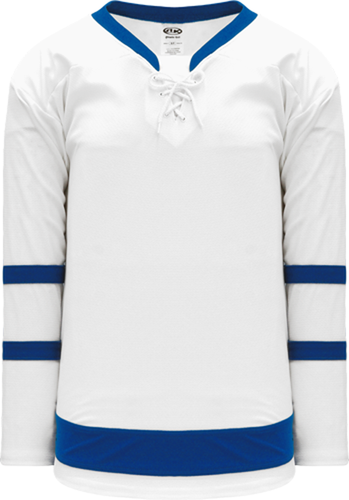 2016 TORONTO WHITE Blank Hockey Jerseys