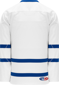 NEW TORONTO WHITE Sleeve Stripes Pro Blank Hockey Jerseys