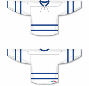 2011 TORONTO WHITE Blank Hockey Jerseys