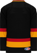 Load image into Gallery viewer, VANCOUVER BLACK Sleeve Stripes Pro Blank Hockey Jerseys